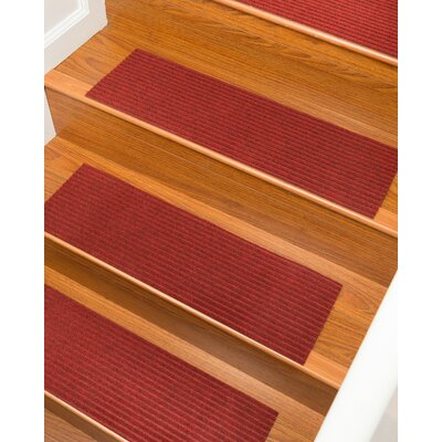 Schiffer Red Stair Tread