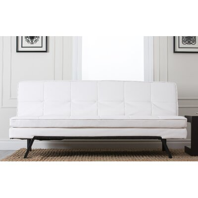 Twedt Convertible Sofa Upholstery: White