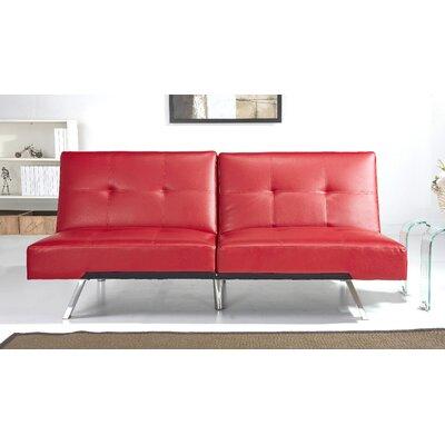 Sleeper Sofa Upholstery: Red