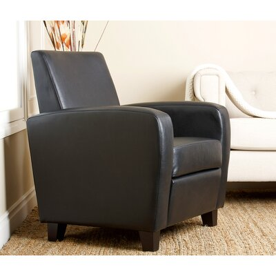 Hydrus Armchair Upholstery: Black