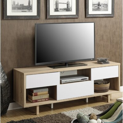 Grovetown TV Stand Color: Weathered White