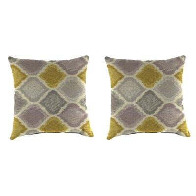 Buchlovice Outdoor Throw Pillow Color: Empire Dawn