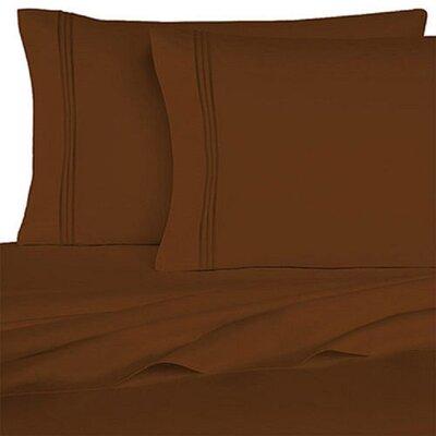 Rycerska 800 Thread Count Super Soft Sheet Set Size: Queen, Color: Brown