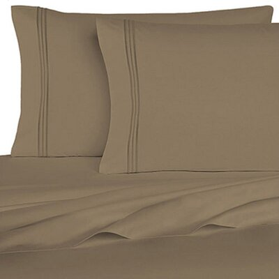 Rycerska 800 Thread Count Super Soft Sheet Set Size: Queen, Color: Beige