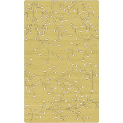 Alpena Yellow Indoor/Outdoor Rug Rug Size: Rectangle 9 x 12
