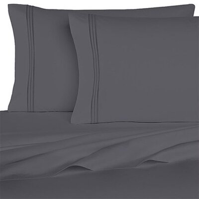 Rycerska 800 Thread Count Super Soft Sheet Set Size: Queen, Color: Gray