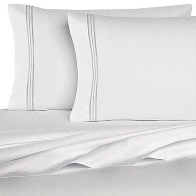 Rycerska 800 Thread Count Super Soft Sheet Set Size: Full, Color: White