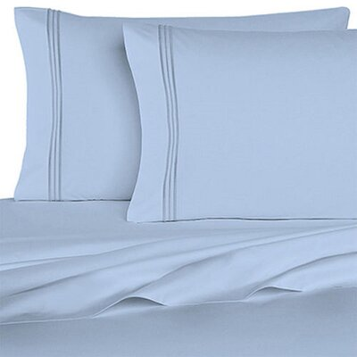 Rycerska 800 Thread Count Super Soft Sheet Set Size: Full, Color: Aqua