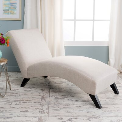 Dunellon Chaise Lounge Upholstery: Taupe