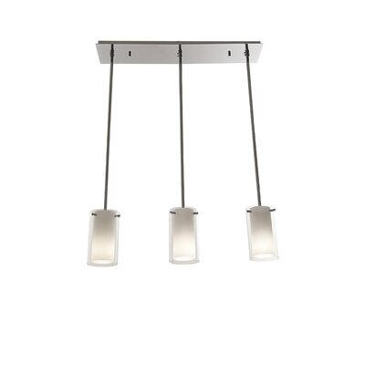 Matthies Adjustable Canopy 3-Light Kitchen Island Pendant Finish: Oil Rubbed Bronze