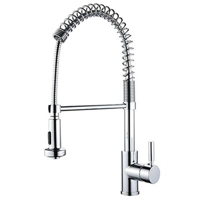 Single Handle Deck Mounted Standard Kitchen Faucet with Optional Desk Plate