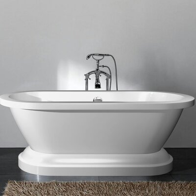 Delaney 67 x 23.6 Freestanding Bathtub