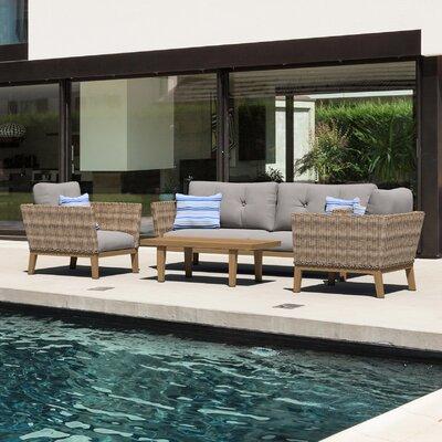 Stylish Rattan Sofa Set Product Photo
