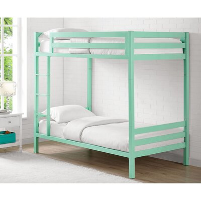 Twin Standard Bunk Bed Color: Mint
