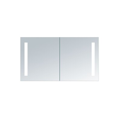Cedar Grove 40 x 26 Mirror Cabinet with LED Lighting