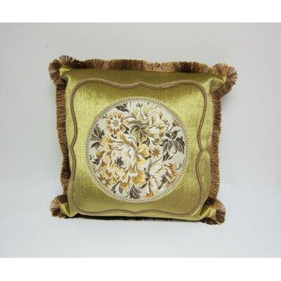 European Floral Throw Pillow Cover