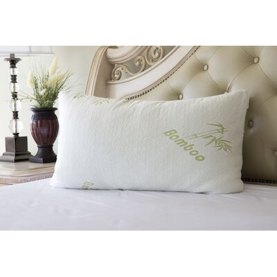 Rayon from Bamboo Pillow Size: Queen
