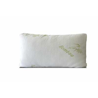 Bamboo Rayon Pillow Size: King
