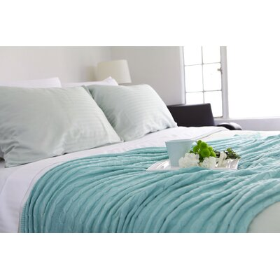 Certified Organic 300 Thread Count Cotton Sheet Set Size: King, Color: Sea Foam