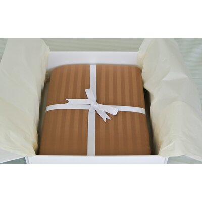 Certified Organic 300 Thread Count Cotton Sheet Set Size: King, Color: Chocolate