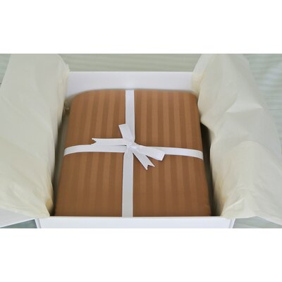 3 Piece Reversible Duvet Cover Set Size: Queen, Color: Chocolate