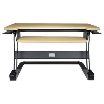 Workspace Lift 20 H x 35 W Standing Desk Conversion Unit Finish: Birch