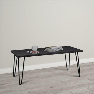Bronstein Coffee Table Color: Black Oak