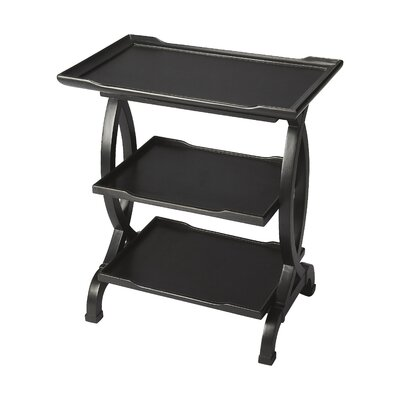 Beachborough End Table Color: Black Licorice