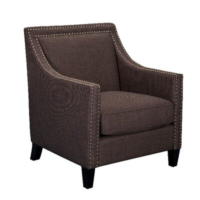 Rotterdam Armchair Upholstery: Chocolate