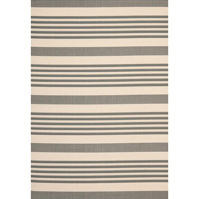 Sophina Gray/Beige Indoor/Outdoor Area Rug Rug Size: Rectangle 53 x 77
