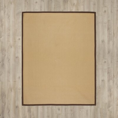 Sharpsburg Brown Area Rug Rug Size: 4' x 6'