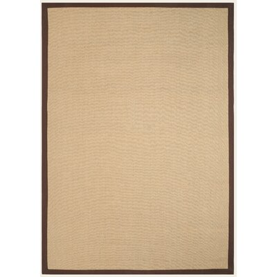 Sharpsburg Brown Area Rug Rug Size: 5 x 7