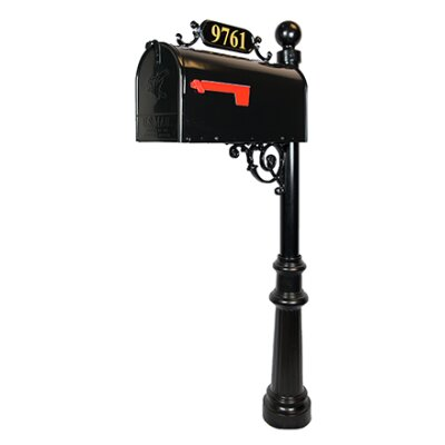 Avenues Mailbox with Post Included H1-KNKC-QE6U
