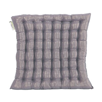 Shimmery Yoga Meditation Floor Pillow Color: Blue