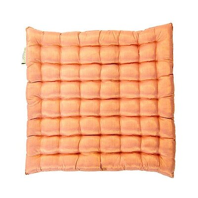Shimmery Yoga Meditation Floor Pillow Color: Blush