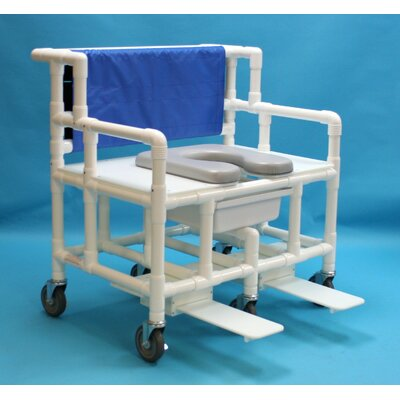 Bariatric Commode Soft Seat Shower Chair
