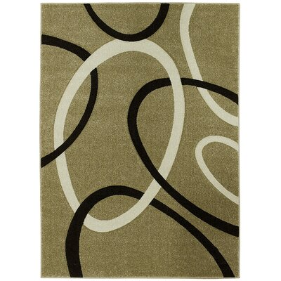 Champagne Area Rug Rug Size: 5 x 7