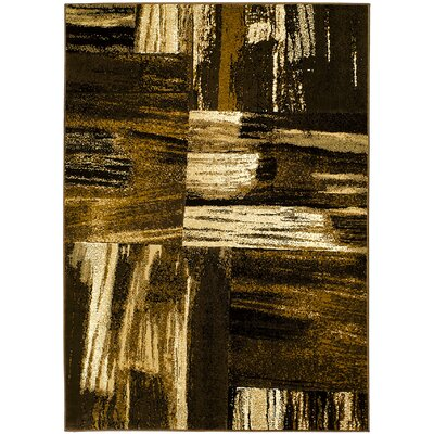 Chocolate Area Rug Rug Size: 5 x 7