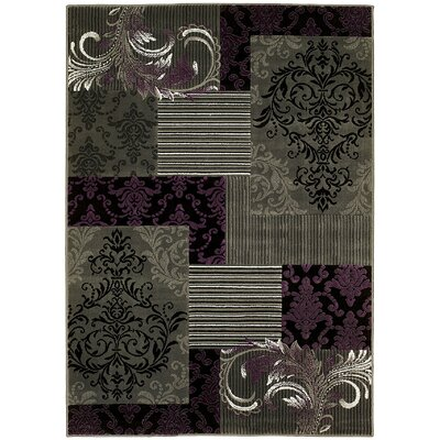 Purple Area Rug Rug Size: 5 x 7