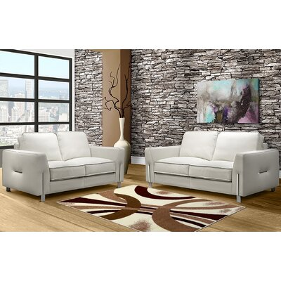 Ivory Area Rug Rug Size: 8 x 10