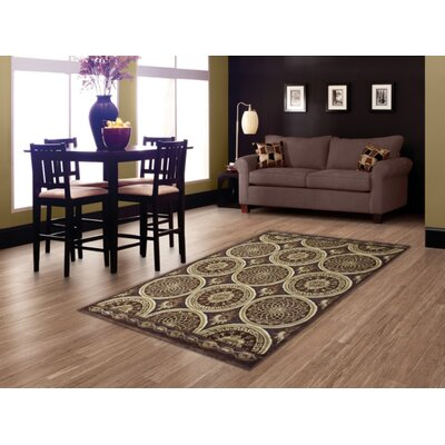 Braedyn Geometric Brown Area Rug