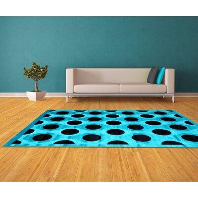 Blue Area Rug Rug Size: 8 x 11
