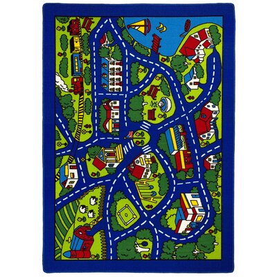 Blue Indoor/Outdoor Area Rug Rug Size: 7 x 10
