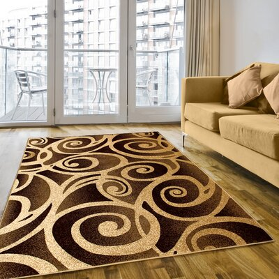 Champagne Area Rug Rug Size: 8 x 11