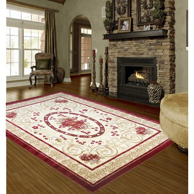 Thomaston Classic Gold/Red Area Rug