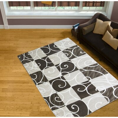 Brown/Beige Area Rug Rug Size: 8 x 11