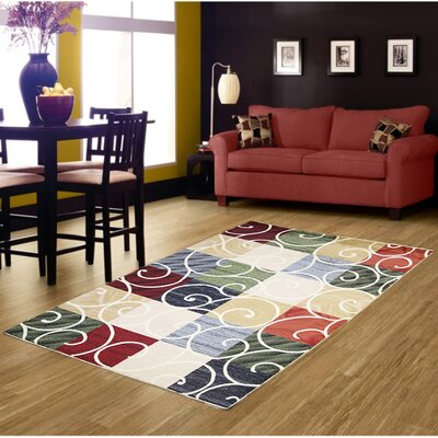Cream Area Rug Rug Size: 8' x 11'