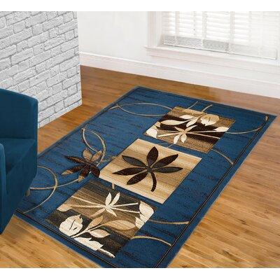 Blue Area Rug Rug Size: 5 x 7