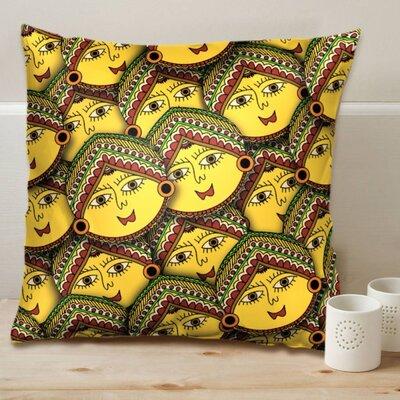 Madhubani Revival Art Cushion Cover