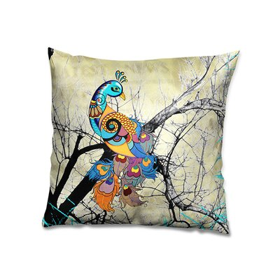 Charismatic Peacock Cushion Cover